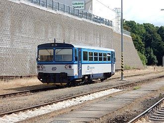 ČD Class 810 - Image: ČD 810 DMU Tachov