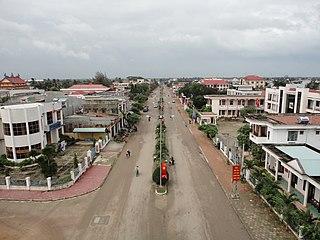 An Nhơn Town in South Central Coast, Vietnam