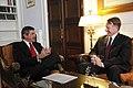 Συνάντηση ΥΠΕΞ Σ. Λαμπρινίδη με τον Πρέσβυ των ΗΠΑ Daniel Bennett Smith (7.10.11).jpg