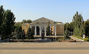Znamensk, Astrakhan Oblast - Officers' House in Znamensk