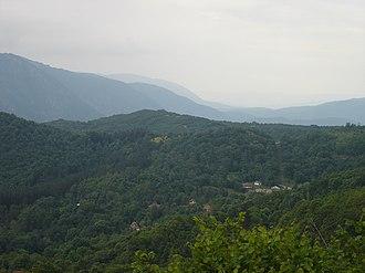 Drenok - Panoramic view of the village