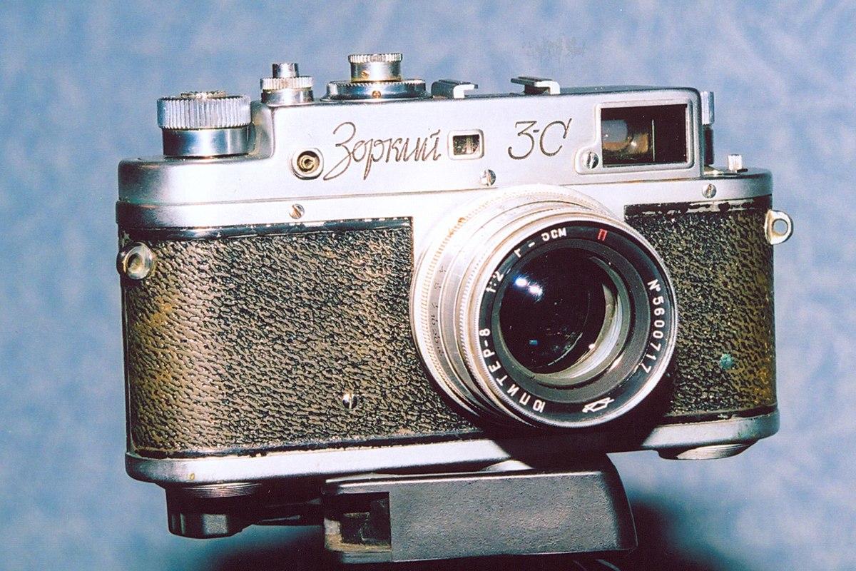 вот раньше красногорский завод по выпуску фотоаппаратов важна только