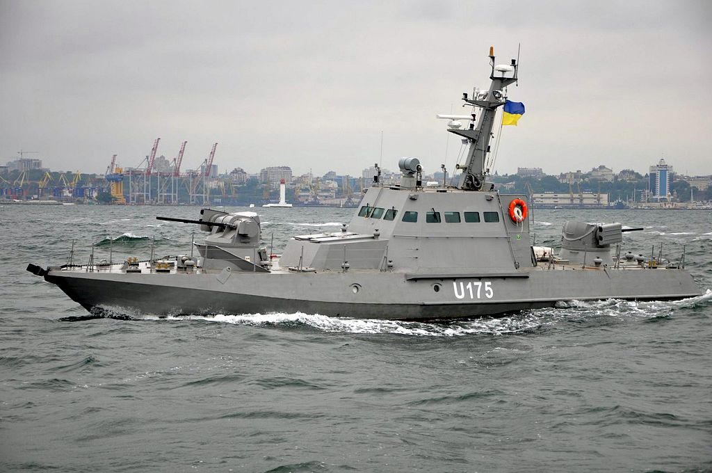 Новозбудовані для українських ВМС малі броньовані артилерійські і