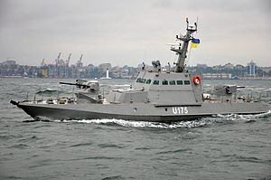 Ukrainian Navy - Ukrainian Navy Gurza-M class boat, Odessa.