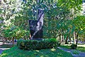 Пам'ятник воїнам – працівникам обласної лікарні ім. Ющенка, загиблим на фронтах ВВВ Вінниця вул. Пирогова, обл. лікарня ім. Ющенка.JPG