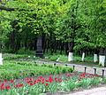 Пам'ятний знак військовим частинам, що звільнили селище від німецько-фашистських загарбників.JPG