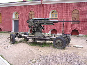 76 mm air defense gun M1938 - 76-mm M1938