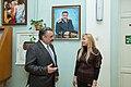 Свої привітання та вдячність за портрет висловив відомий український письменник- публіцист Микола Степаненко.jpg