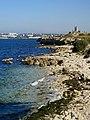 Херсонесское побережье и вид на севастополь.jpg