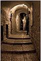 """לילה בסמטאות העיר העתיקה - בית הכנסת האר""""י.JPG"""