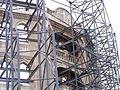 עבודות שימור חזית המבנה.JPG