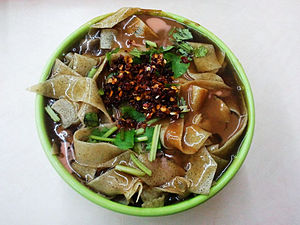 Tianjin cuisine - Image: 锅巴菜