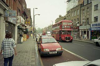 Essex Road Street in the London Borough of Islington