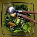 02016 0866 Speise von essbaren Wildpflanzen, Beskidische Küche.JPG