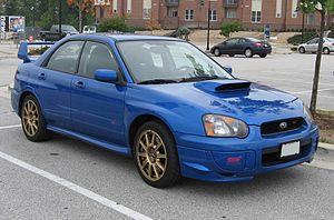 Sport compact - 2004 US-spec Subaru Impreza WRX STI