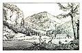 047 Die vormalige Staatsherrschaft Freienstein im Brucker Kreise - J.F.Kaiser Lithografirte Ansichten der Steiermark 1825.jpg
