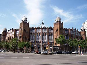 Ban on bullfighting in Catalonia - La Monumental bullring in Barcelona