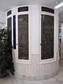 089 Casa Orlandai, caixa de l'escala.JPG