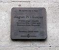 095 Aquí va viure August Pi i Sunyer, c. Girona.jpg