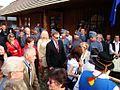 09980 Bilder von der Marktplatzeröffnung im Freilichtmuseum Sanok durch Minister Zdrojewski, am 16. September 2011.jpg