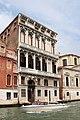 0 Venise, palais Flangini et vedette taxi sur le Grand Canal.JPG