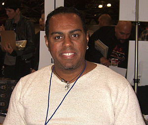 Georges Jeanty - Jeanty at the 2010 New York Comic Con.