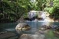 1012 - Erawan Waterfall 2nd floor has beautiful rocks.jpg