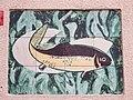 1210 Jedleseerstraße 79-95 Stg. 83 - Kachelmosaik-Hauszeichen von Gertrud Angerer 1955 IMG 0772.jpg