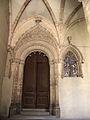 121 Catedral de Sant Pere, portal del claustre.jpg