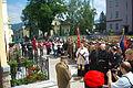 125th anniversary of TG Sokół in Sanok (June 7, 2014) 6 unveiling of plaque.jpg