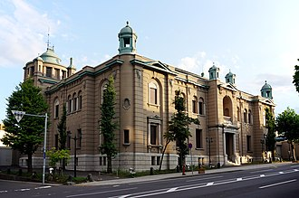 Otaru - Former Bank of Japan Otaru Branch, now home to the Bank of Japan Otaru Museum