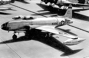 101st Air Refueling Wing - 132d Fighter Squadron – Lockheed F-80C Shooting Star, AF Ser. No 48–0891, 1950