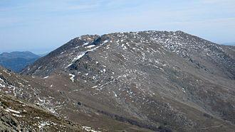 Punta La Marmora - The summit of Punta La Marmora, seen from Bruncu Spina