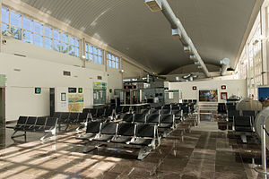 Campeche International Airport - Airport waiting room.