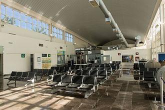 Campeche International Airport - Airport waiting room.