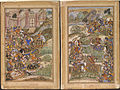 1572-The Battle of Sarnal Gujarat-Akbarnama.jpg