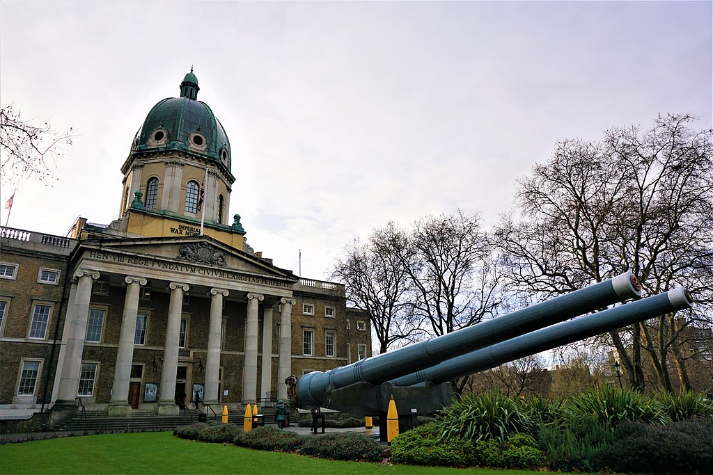 15 inch Naval Guns - Imperial War Museum - Joy of Museum 2