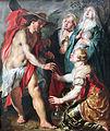 1616 Jordaens Christus erscheint den drei Marien als Gaertner.JPG