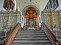 """1691 erfolgte nach 21-jähriger Bauzeit die Einweihung der dreischiffigen Hallenkirche """"St. Hadrian und St. Dionysius"""". Die Kirche wurde im Baustil der westfälischen Nachgotik errichtet. Sie war zu dem Zeitpunkt eine - panoramio (1).jpg"""