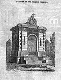 1847, Diccionario geográfico-estadístico-historico de España y sus posesiones de ultramar, tomo X, Madoz, Panteón de Joaquín Fagoaga, Tomé.jpg