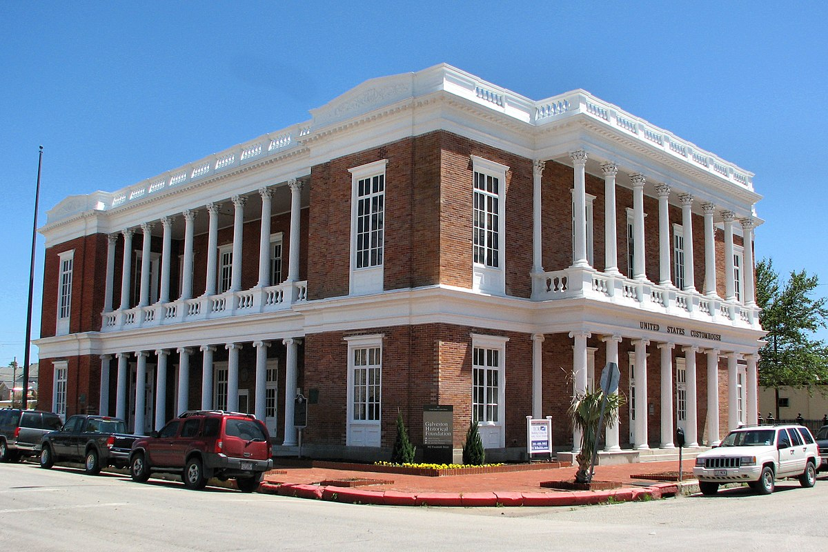 United States Customs House and Court House (Galveston