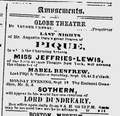 1876 GlobeTheatre BostonEveningTranscript Sept9.png