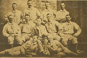 Cleveland Blues (NL) all-time roster - The 1879 Cleveland Blues baseball team