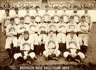 1895 Brooklyn Grooms season - The 1895 Brooklyn Grooms