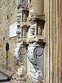 18 Santa Maria de Calella, retaule dels Apòstols, a la façana oest.JPG