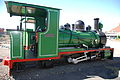 18 inch gauge locomotive, Kimberley Diamond Mine Museum.jpg