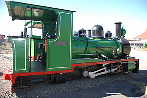 W. G. Bagnall - Image: 18 inch gauge locomotive, Kimberley Diamond Mine Museum