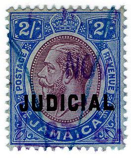 Revenue stamps of Jamaica