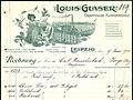 1915-06-17 Louis Glaser Graphische Kunstanstalt Leipzig Kreuzstraße 20 Rechnung Carl Rauschenbach Zorge Briefkopf 300dpi.jpg