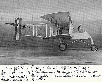 History of the Armée de l'Air (1909–42) - 1915 Voisin V bomber